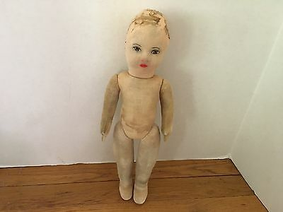 Antique AS CHAD VALLEY or DEANS RAG DOLL Perfect Restoration Practice Item