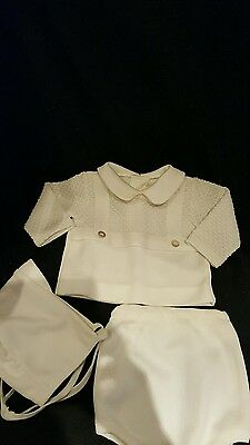 Vintage BABY BOY 3pc. OUTFIT LOT