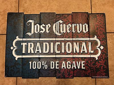 Jose Cuervo Tequila Tin Metal Sign