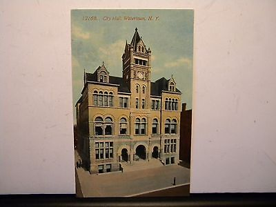 Watertown New York:  City Hall Building