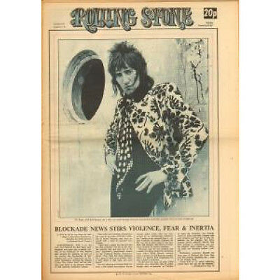 ROD STEWART Rolling Stone June 8 1972 Issue 110 MAGAZINE UK 1972 52 Page