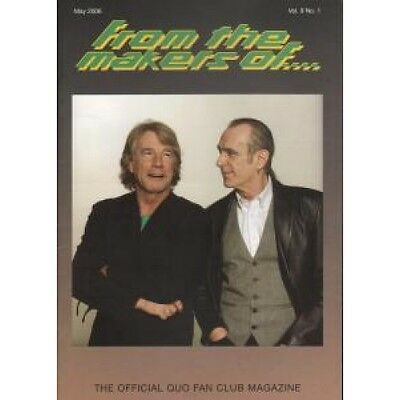 STATUS QUO From The Makers Of Vol.9 No.1 FANZINE UK 2006 May 2006 A5 Official