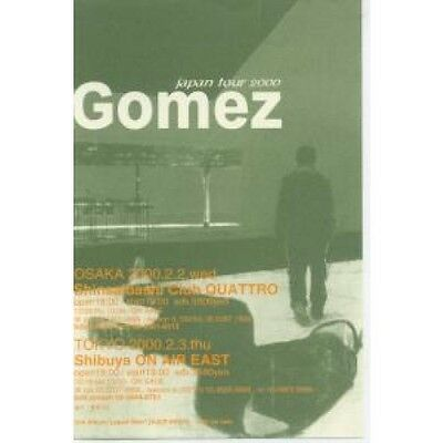 GOMEZ Japan Tour 2000 FLYER Japanese Promo Tour Flyer Approx 10 X 14 Cm