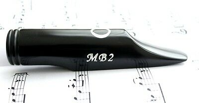 Borb Oliver MB2 Tenor Sax Mouthpiece (Reference: Dave Guardala MB2)