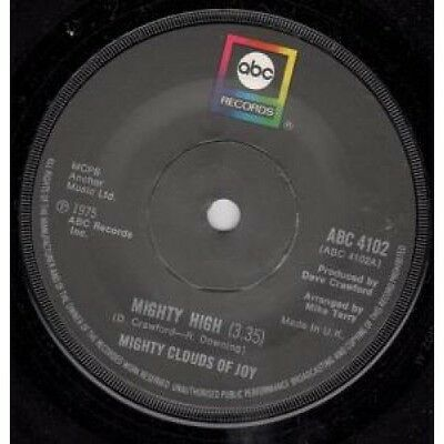 """MIGHTY CLOUDS OF JOY Mighty High 7"""" VINYL UK Abc 1975 B/W Touch My Soul"""
