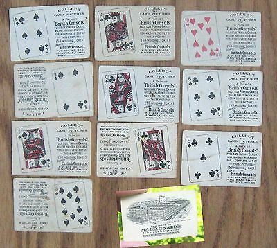 Lot Home Macdonald's For Tobacco Tin It Playing Cards In Pack British Consols
