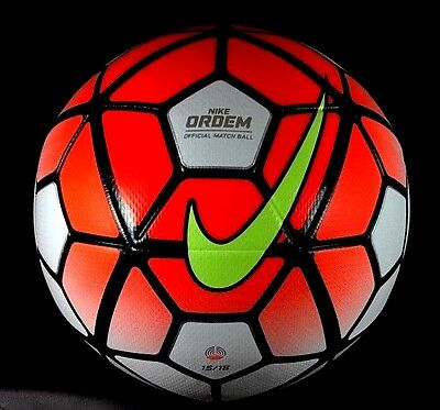 Nike Ordem 3 Official Match Soccer Ball Fifa Size 5 AUTHENTIC NEW IN BOX $150