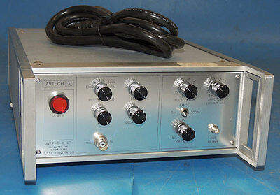 Actech AVPP-1-C Pulse Generator 10V 1MHz 100 PS Rise Time High Speed / Warranty