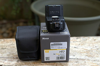 nissin i 40 flash for sony a7 series