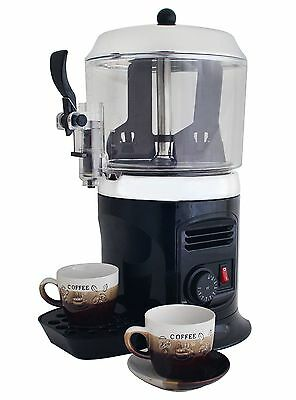 Black 110V hot chocolate dispenser drinking machine low price free shipping