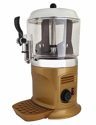 Golden 5L 110V Commercial Hot Chocolate Shot Machine Free Shipping in Stock