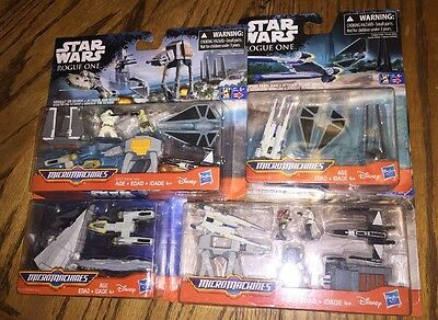 Star Wars Micromachines Lot Rogue One Assault Scarif Imperial Might Rebel Raid