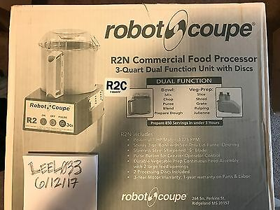 Robot Coupe R2C Food Processor BRAND NEW R2N