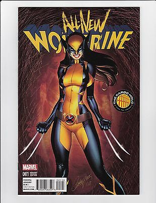 All New Wolverine #1 J Scott Campbell Cargo Hold Color Variant Nm- X-23