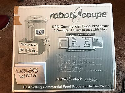 Robot Coupe R2N CLR Food Processor R2NCLR BRAND NEW