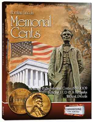 Cornerstone Lincoln Memorial Cents, 1959-2009 P, D & S, Without Proofs Album