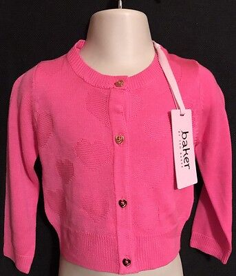 Nwt Ted Baker baby girl's Cardigan sweater 12-18 Months