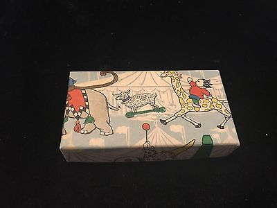 Vintage Loft Mini Candy Box w Circus Theme Fab Graphics
