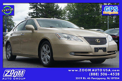 2007 Lexus ES 4dr Sedan 4dr Sedan In Stock Low Miles Automatic Gasoline 3.5L V6 Cyl Golden Almond Metall