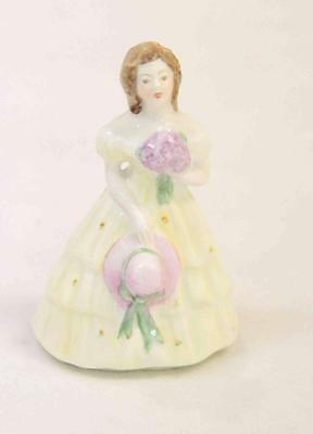 """Coalport """"Kitty"""" Ceramic Figurine of A Lady Made in England Vintage #11971"""
