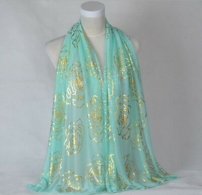 Chinese New Fashion Lady Long Wrap Women's Shawl Scarf Girl's Soft Scarves 7#