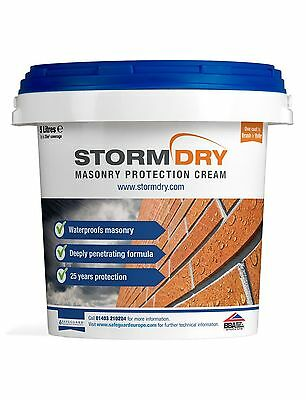 Get Cashback Stormdry Masonry Protection Cream 5L Brick Waterproofer