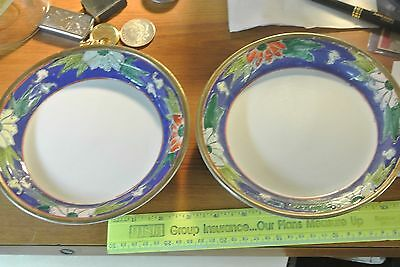 A Pair Chinese Porcelain  blue Bowls, Tongzhi Mark and of Period 1862-1874