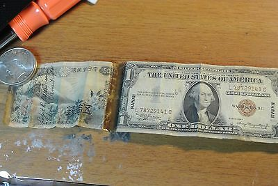8 Short Snorter Notes Wwii Us Hawaii Note Plus Seven Different Taped Roll