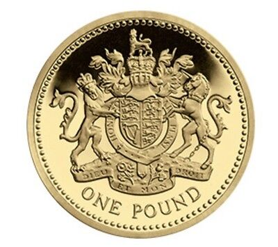 1983 £1 COIN THE FIRST ONE POUND Coin Royal Arms Circulated Condition