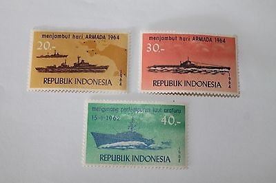 1964 Indonesian Navy Stamps