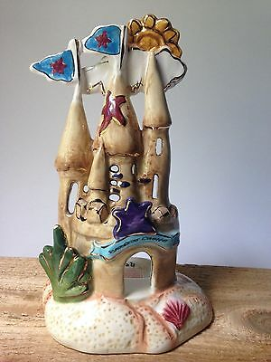 BLUE SKY CLAYWORKS by HEATHER GOLDMINC Seastar Sand Castle Retired Rare