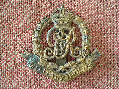 WW1 British Military Police Cap Badge
