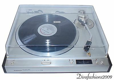 Pioneer PL-610 Electronic Automatic Direct Drive Stereo Turntable Works Japan