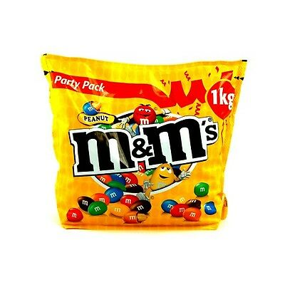 M & M's Peanut Chocolate Party Pack 2 x 1KG - M&M's  bulk pack