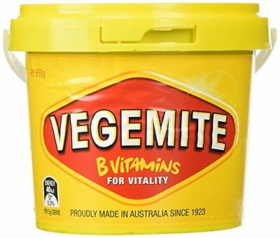 3 x 950g Vegemite Tub Jar By Kraft Australian Made Vegan Kosher Halal Vitamin B