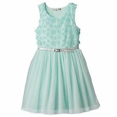 NWT Girls KNIT WORKS Dress Summer Sleeveless Party Wedding