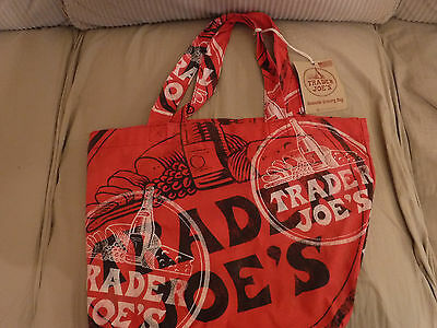 One TRADER JOE'S Reusable Cloth Grocery Bag,New with Tags