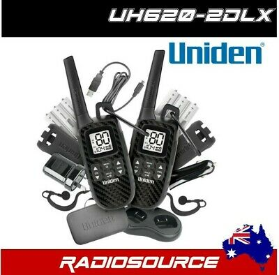 UNIDEN UH8080S S 80 CHANNEL UHF CB + 6.6dBI HEAVY DUTY BLACK REMOVABLE ANTENNA