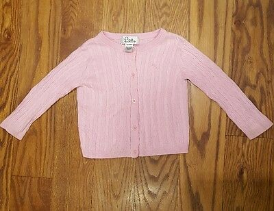 Lilly Pulitzer Baby Girls Sz 12-18 months Sweater Cardigan Pink