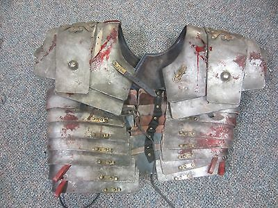 SPARTACUS ROMAN SOLDIER Lorica segmental Leather Armor SCREEN USED original
