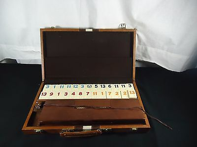 Vintage Deluxe Royal Rummy Game With Carrying Case