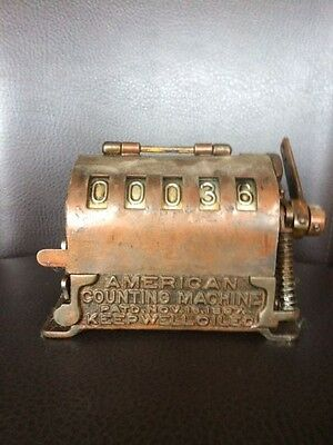Rare Antique American Counting Machine