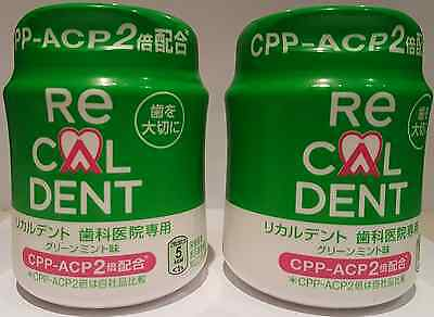 Recaldent CPP-ACP 2 - Chewing Gum Mint Flavour x 2 Packs - FREE SHIPPING