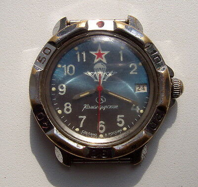 Russian Paratrooper vintage wristwatch