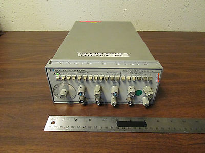 HP Agilent 3312A Function Generator .1 - 1 MHz Sine Sawtooth Square Tested