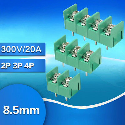 Terminal Block Screw KF8500-2P/3P/4P Pitch 8.5MM 300V / 20A PCB Mount Connector