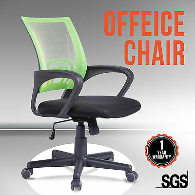 High Back Executive Swivel Mesh Green Office Chair Computer Desk Furniture