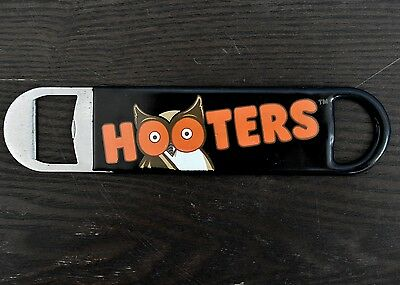 HOOTERS GIRL Bartender Speed Beer Bottle Opener Black