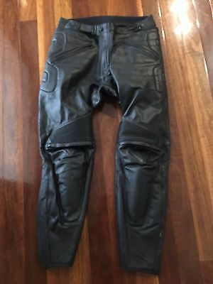 Dainese leather motorcycle pants size 54Euro