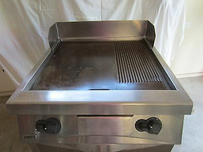 Zanussi 800mm wide LPG Gas Griddle with Oven   Immaculate.